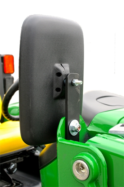 Tractor Side Mirrors : Loader mirror kit left side